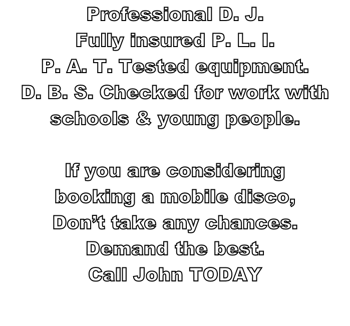 Professional D. J.